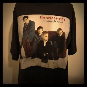 Vintage The Cranberries No Need Argue tour T-shirt